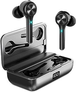 【最新版 第2世代TWS-G6 ワイヤレス イヤホン】 Bluetooth イヤホン 完全ワイヤレス IP67完全防水 高音質 両耳 左右分離型 3Dステレオサウンド マイク内蔵 自動ペアリング 自動電源ON/OFF 最先端Bluetooth5.0 AAC/CVC8.0ノイズキャンセリング対応 最大100時間音楽再生 PSE認証済 iPhone/ipad/Android適用