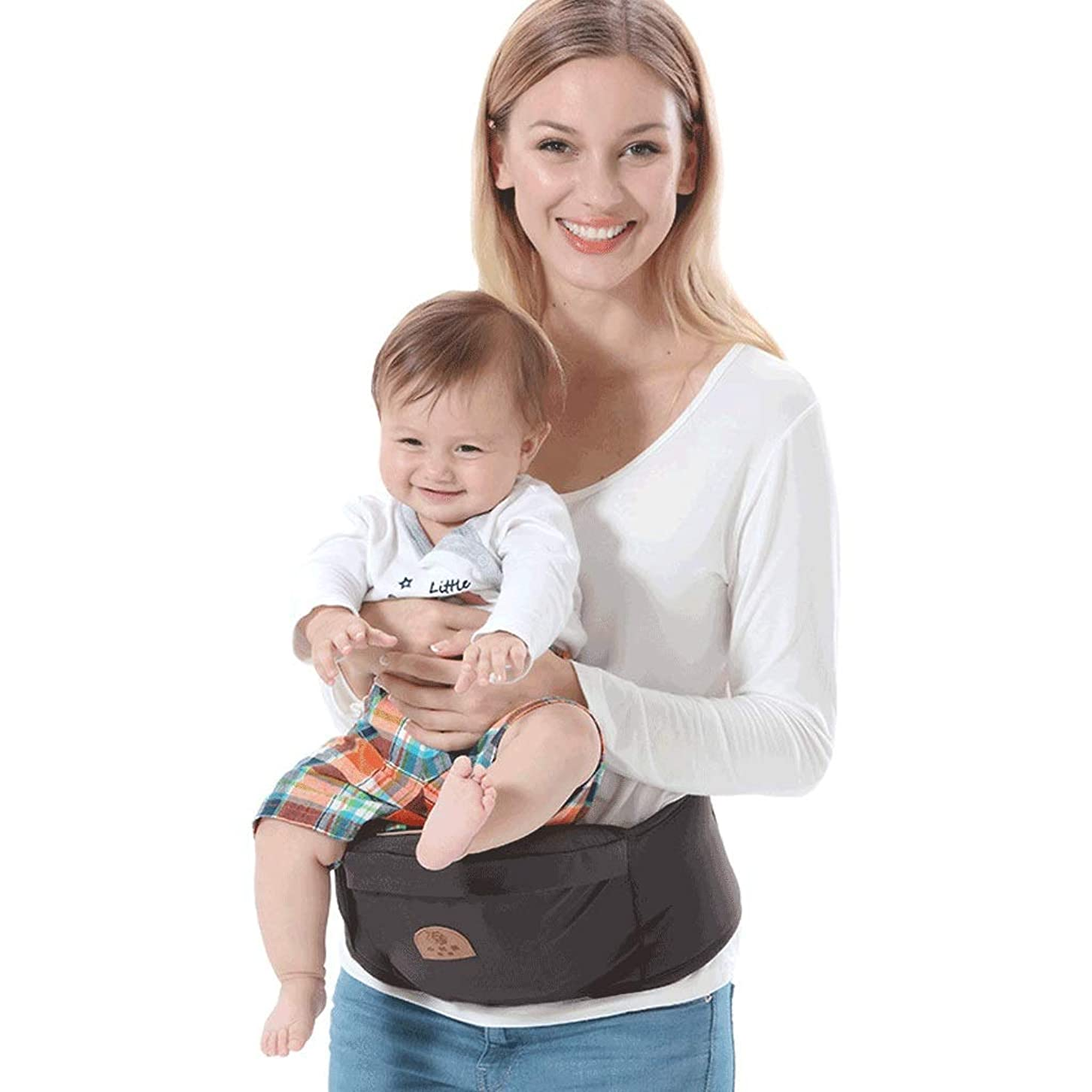 踊り子脆い一致多機能ベビーウエストスツール、ベビーシートスツール付きベビーベルト四季普遍的な綿通気性、0-36ヶ月重量20キログラム
