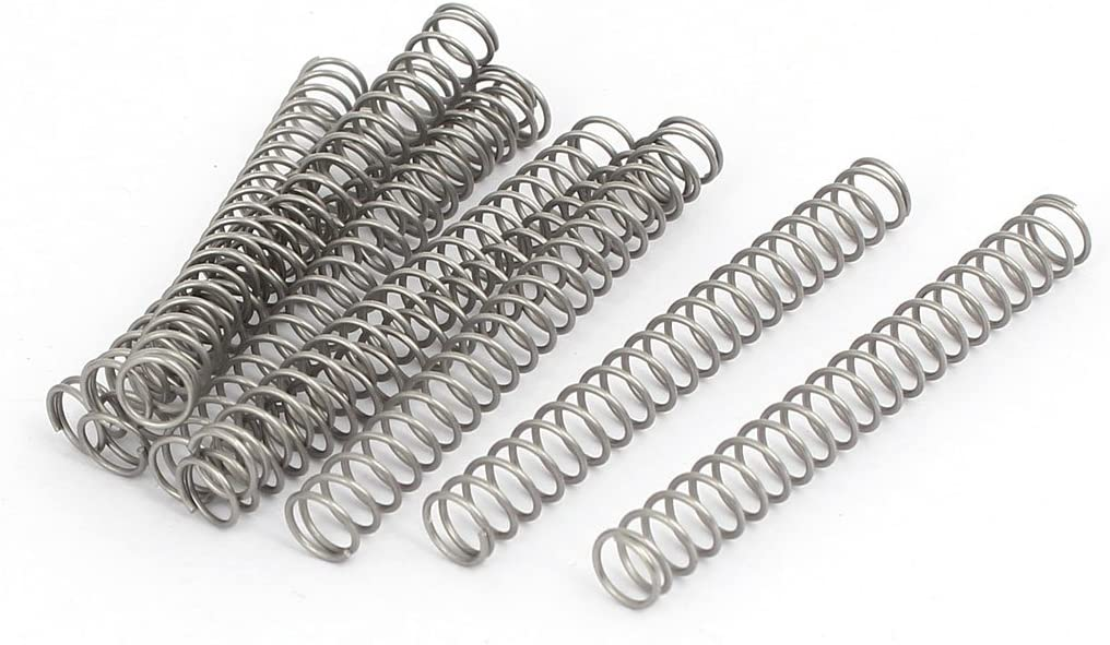 Aexit 0.6mmx6mmx50mm Sale item 304 Springs Stainless outlet Spr Compression Steel