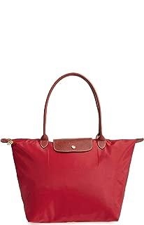 Longchamp 'Large 'Le Pliage' Tote Shoulder Bag, Red