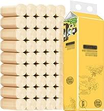 Zhgzhzwlf Ultra Plush Toilet Paper, 42 = 99 Regular Rolls, 4 Ply Bath Tissue, 42 Rolls 3 Packs