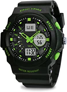 TOPCABIN Swim Chronograph-50m Waterproof Digital-analog Children Sport Watch with Alarm Stopwatch