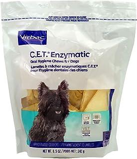 C.E.T. آدامسهای بهداشت دهان و دندان آنزیمی برای سگهای متوسط (11-25 پوند) - (90 جوجه) توسط CET