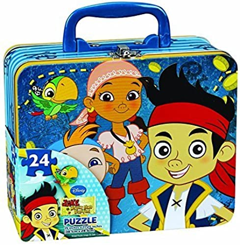 diseños exclusivos Jake and the Neverland Pirates Puzzle Puzzle Puzzle Tin   Lunch tin by Disney  nueva gama alta exclusiva