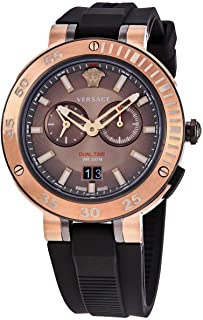 Versace V-Extreme Chronograph Quartz Bronze Dial Men's Watch VECN00319
