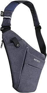 Sling Bag Lightweight Casual Daypack Chest Shoulder Bag for Men Women