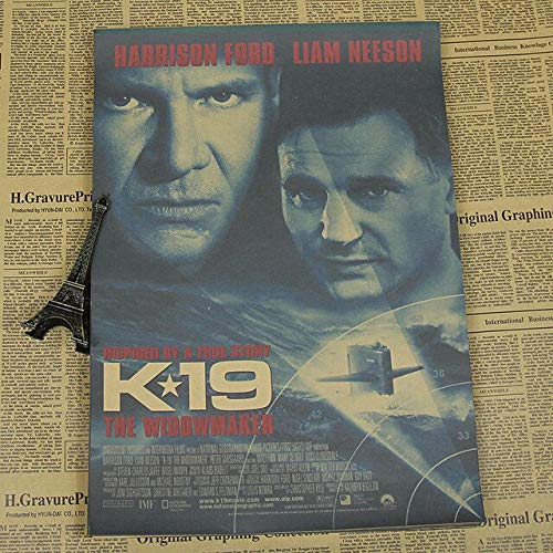 panggedeshoop Liam Neeson Film Paper Poster Decorative Painting Hurricane Rescue Team 50X70Cm -Sz1186
