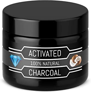 [German Brand] Premium 30g Activated Charcoal Powder - For White Teeth in a few days – 100% Pure - Freshens breath - Teeth Whitening - Bleaching - Active Carbon Coco Whitener Whiting Tooth Kit