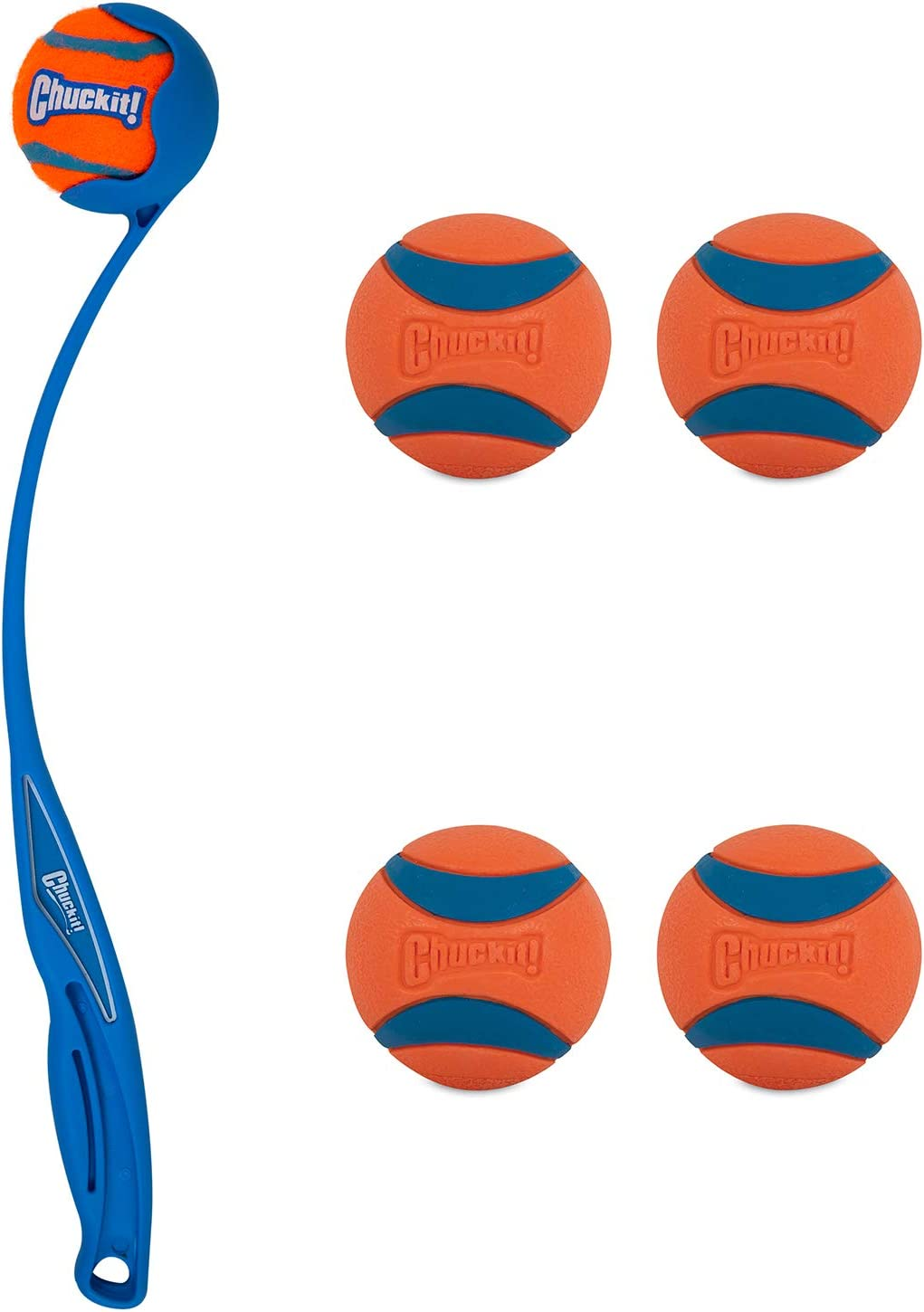 Chuckit Junior Ranking TOP18 18M Ball Launcher and Pack 4 Medium S Ultra Large discharge sale
