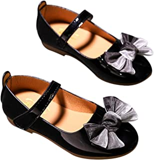 DEBAIJIA Princess Niñas Zapatos 2-9 Años Zapatillas Moda Niños Clásico Hermosa Flor Tendencia Primavera Otoño Fondo Suave ...