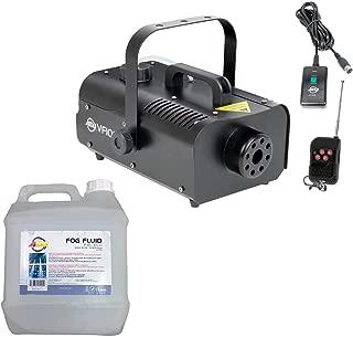 AMERICAN DJ VF1000 1000W 1 Liter Mobile Smoke Fog Machine w/Remotes + Fog Fluid