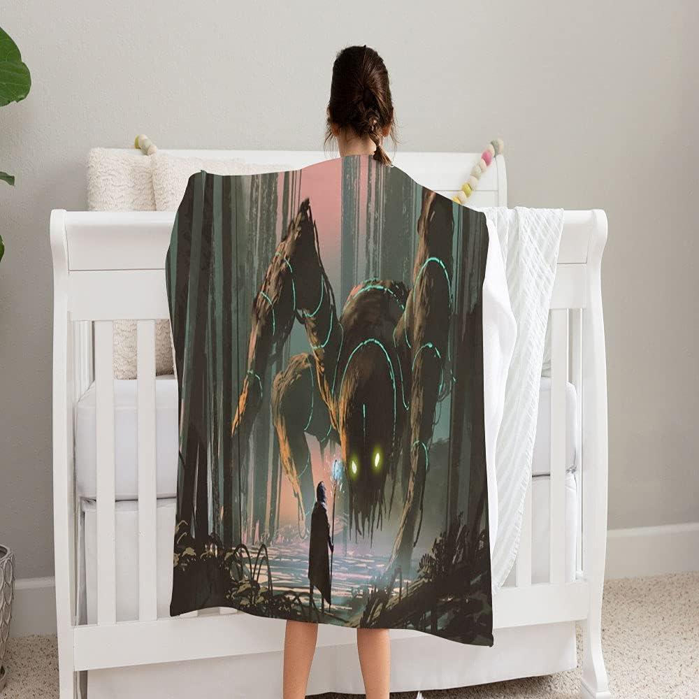 LPVLUX Young Wizard Magic Staff Popular brand Giant Blanket Superlatite So Super Creature