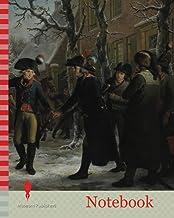 Notebook: General Daendels Taking Leave of Lieutenant-Colonel Krayenhoff, Adriaan de Lelie, Egbert van Drielst, 1795