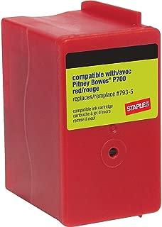Staples 756928 P700 Postage Meter Ink Cartridge for Dm100I and Dm200L Series Meters