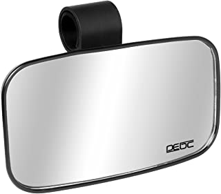Small UTV Clear Rear View Center Mirror for 1.5