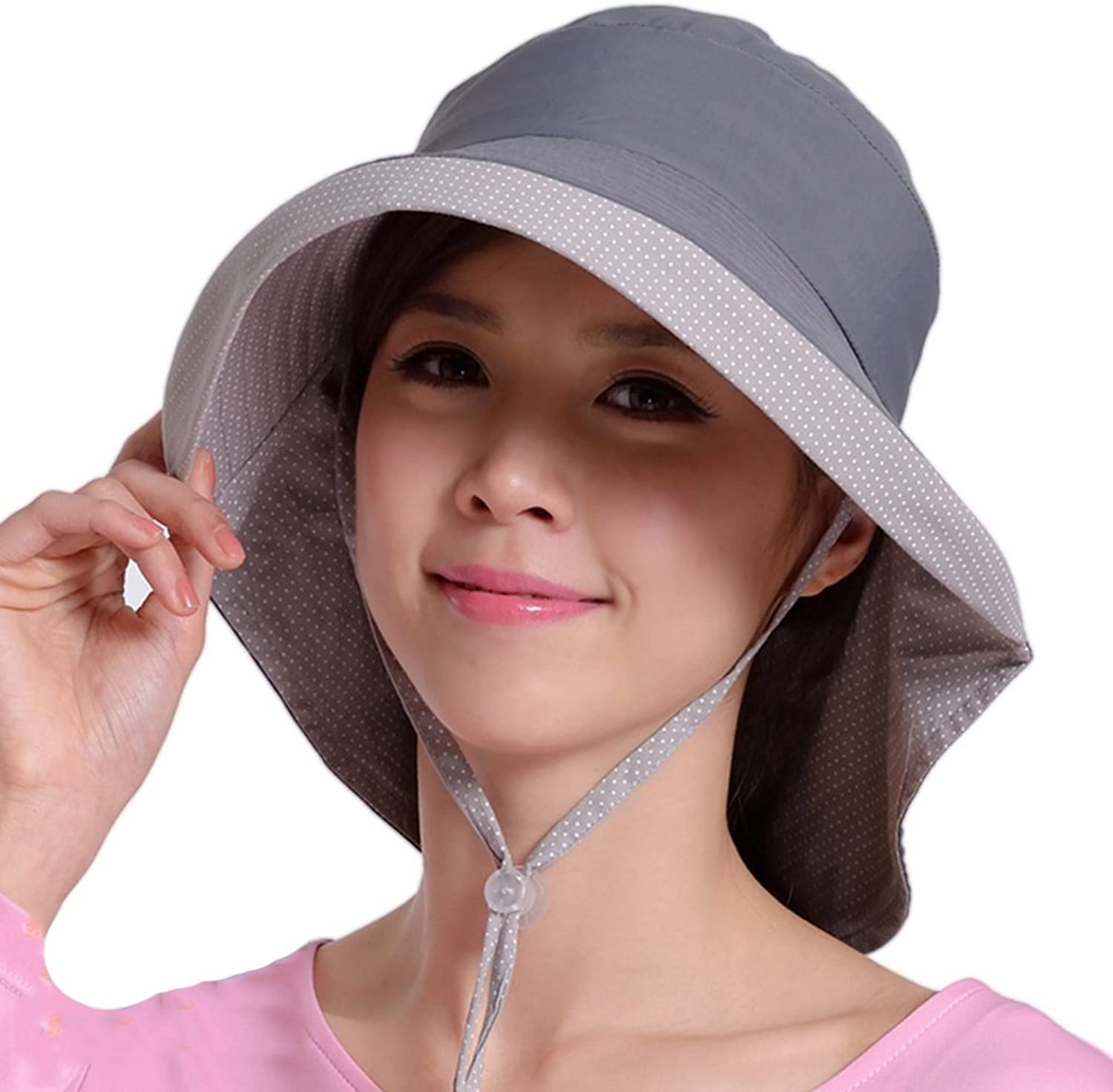 ZXQZ Hat AntiUV Breathable Visor Hat Lady's Summer Sun Predection Cap Outdoor Trip and Windproof Cap UV Predection Cap (color   G)