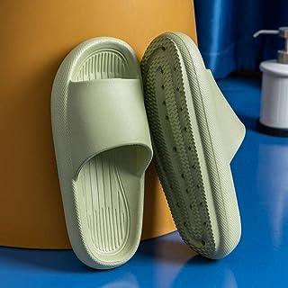 LLGG Chaussons de Bain Chaussons,Portez des Pantoufles de Fond épais en Plastique antidérapants-Œuf de Canard Vert_40-41,P...