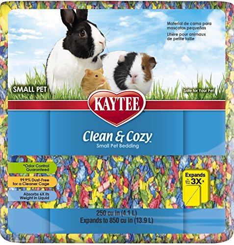 Kaytee Superpet | Lettiera Clean & Cozy per Piccoli Animali/roditori/criceti | Torta di Compleanno | 99,9% priva di Polvere | Controllo degli odori | 12,3 Litri