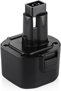 Powerextra 9.6V 3.0Ah Replacement for Black and Decker PS120 Battery Pack (Also compatible with Dewalt Dw9061 Dw9062 De9036 De9062 Dw9614 Dw050,etc)