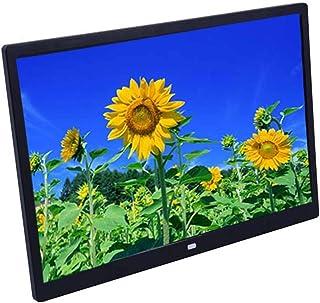 إطار صور رقمي 15 بوصة عالي الدقة LED إطارات الصور الرقمية آلة الإعلانات التجارية الإلكترونية يدعم التقويم، والساعة، وتشغيل...