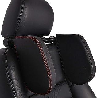 Auto Kopfstütze Nackenstütze, HommyFine Auto Kopfstütze Kinder, Kopfkissen Nackkissen für Autositz Unterstützung auf Beiden Seiten ideal für Reisen oder Nachtfahren Schlafen