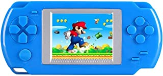 KOBWA Handheld Game Console for Children, Built in 268 Classic Old Games Portable Game Console, The 80's Arcade Video Gaming System (Blue)