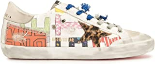 Golden Goose Luxury Fashion Donna GWF00107F00129080932 Bianco Pelle Sneakers | Stagione Permanente