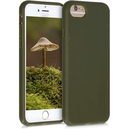 6//6s//7//8//SE nero trasparente 100/% compostabile e biodegradabile Ecologica Pela: Custodia per iPhone 6//6s//7//8//SE Realizzata con piante