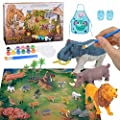Colorshow Arts and Craft Set Animal Figurines Toys Painting…