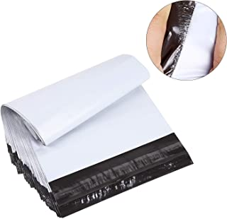 BESTEASY 100 12x15.5 White Poly Mailers Envelopes Bags Shipping Mailing Bags