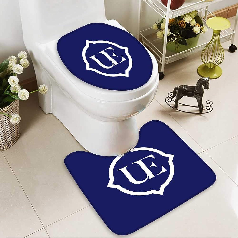 Analisahome Cushion Non-Slip Toilet Mat ue Logo Soft Non-Slip Water