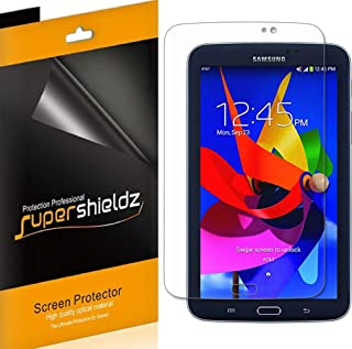 (3 Pack) Supershieldz for Samsung Galaxy Tab 3 7.0 (7 inch) Screen Protector, High Definition Clear Shield (PET)