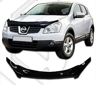 TUTU-C Lot de 4 Pare-Soleil en Plastique ABS pour Nissan Qashqai 2008 2009 2010 2011 2012 2013 2014 2015
