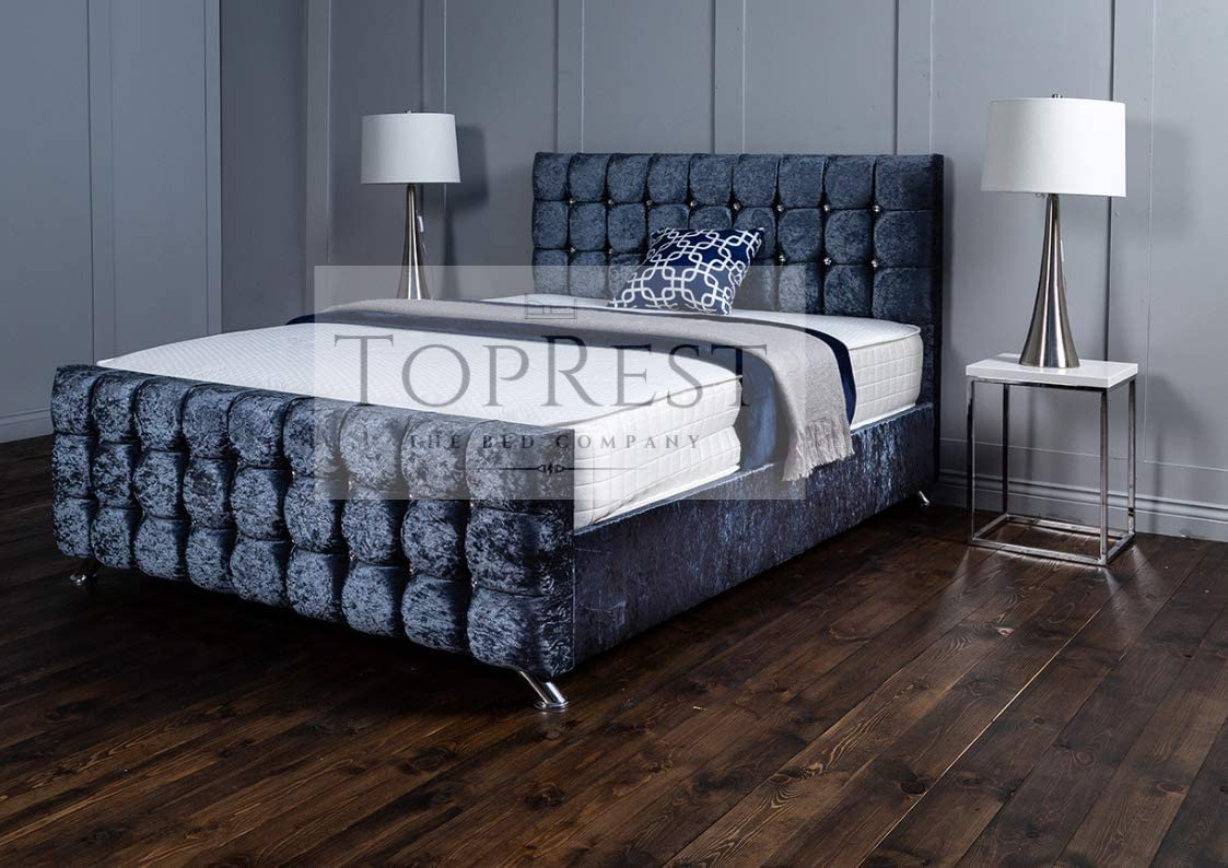 TopRest Modena Somier | Diseño cubito acolchado profundo ...