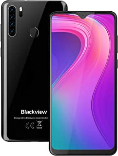 "Unlocked AT&T Cell Phones Blackview A80 Pro (2020), 4GB+64GB ROM Android 9.0 GSM 4G Smart Phone, 6.49"" Screen, 13MP+8MP Dual SIM Unlocked Phones 4680mAh Fingerprint for T-Mobile Straight Talk Phones"