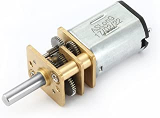 uxcell DC 12V 100RPM Micro Speed Reduction Motor Mini Gear Box with 2 Terminals for RC Car Robot Model DIY Engine Toy