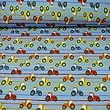 Sweatstoff Trecker, STANDARD 100 by OEKO-TEX, bunt (25cm x