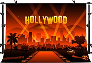 MME 10x7Ft Hollywood Poly Fabric Photo Backdrops Customized Studio Background Studio Props GEME207