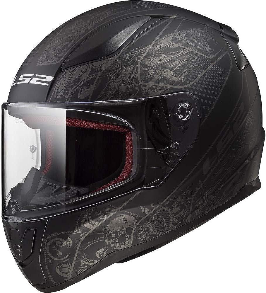 LS2 Unisex-Adult Full Ranking integrated Arlington Mall 1st place Face XXX-Large Helmet Crypt