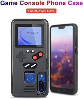 Gameboy Case for Huawei,Handheld Retro 3D Game Silicone Cover Case Console Phone Case with 36 Small Games, Compatible with Huawei p20/ p20Pro/ Nova