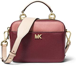 e5e712a95fbe Michael Kors Mott Mini Small Calf Leather Crossbody Purse
