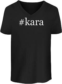 #kara - Men`s Soft & Comfortable Hashtag V-Neck T-Shirt