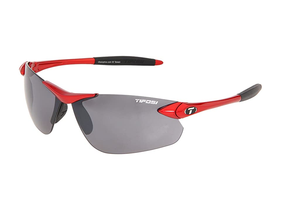 Tifosi Optics Seektm FC (Metallic Red) Athletic Performance Sport Sunglasses