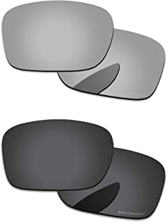 Polarized Lenses Replacement for Oakley Holbrook 2 Pairs Packed
