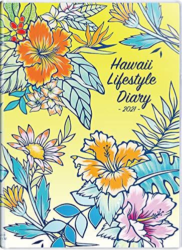 ハワイ手帳ミニ2021 10月始まり A6サイズ マンスリー ビニールカバー (LUISE ONO) (日本語) Diary