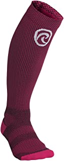 Rehband Rx Compression Socks - Small – Pink - for Women and Men - Athletic Socks for Running + Sports - Improve Circulation - Graduated Medical Grade Compression for Support, Stamina and Recovery