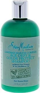 Shea Moisture Zanzibar Marine Complex Age-Defy and Color Protect Shampoo by Shea Moisture for Unisex - 13 oz Shampo, 384 ml