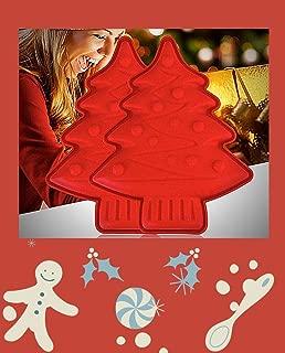 2 Moldes Silicona Navidad Moldes Resina Navide/ños Merry Christmas /Árbol de Navidad 5 Hojas de Pan de Oro de Imitaci/ón Herramientas Manualidades Adornos Navide/ños