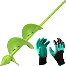 [Upgrade Version]BLIKA Auger Drill Bit, Garden Plant Flower Bulb Auger 3