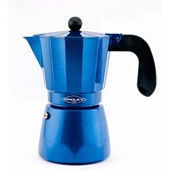 Oroley - Cafetera Italiana Blue Induction | Base de Acero ...